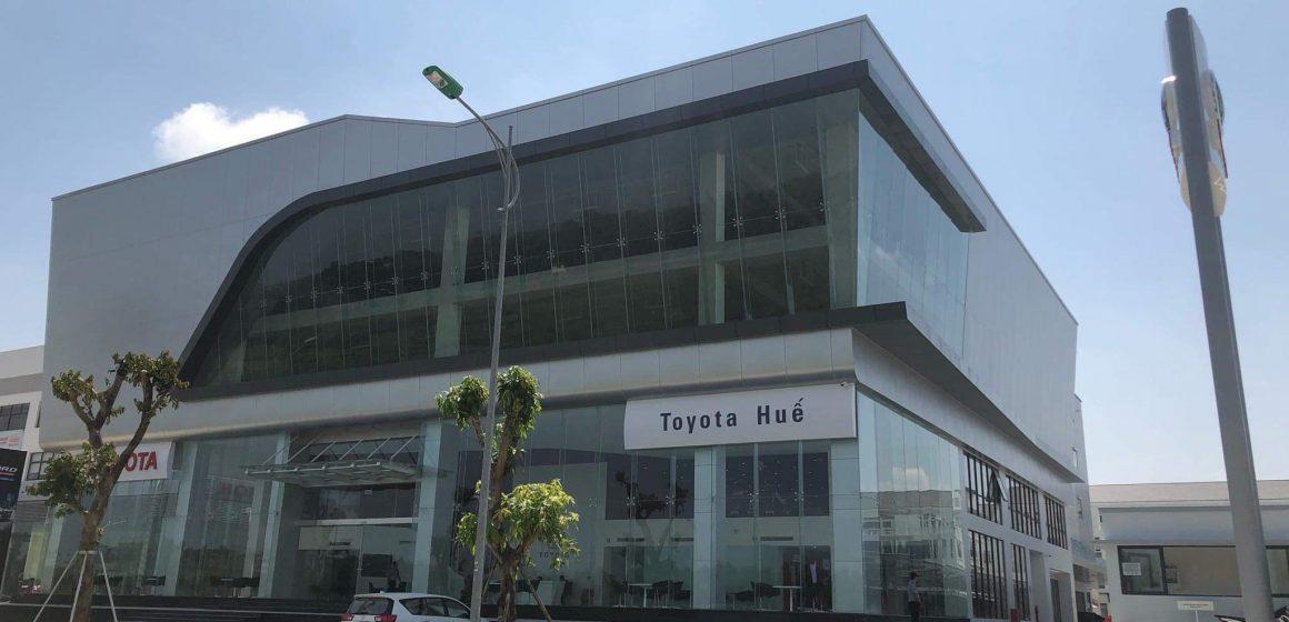 Toyota Việt Nam mở rộng hệ thống đại lý. Ra Mắt Toyota Huế.