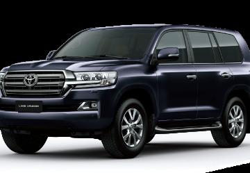 Toyota Việt Nam giới thiệu mẫu xe mới Land Cruiser 2020.