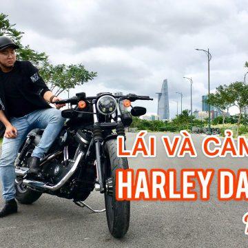 """Đánh giá chi tiết """"Gã cơ bắp đường phố"""" – Harley Davidson iRon 883."""