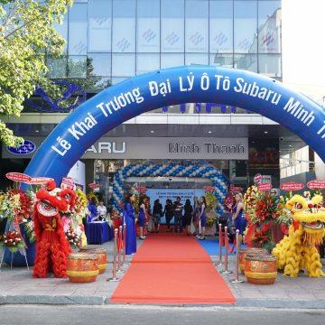 Subaru Việt Nam khai trương Đại lý thứ 10 tại Việt Nam.