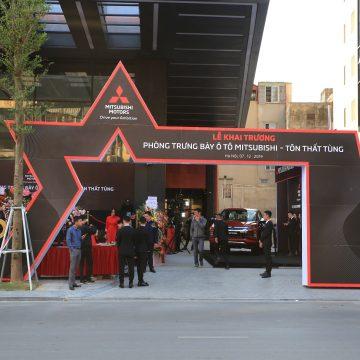 """Mitsubishi khai trương phòng trưng bày Tôn Thất Tùng theo chuẩn """"Big City"""""""