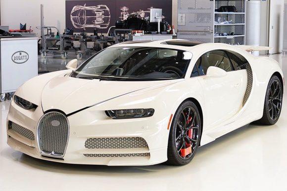 Kết hợp với Hermes, Bugatti ra mắt chiếc Chiron độc nhất thế giới.
