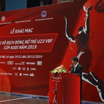 Audi Việt Nam đồng hành cùng Giải Vô địch bóng rổ trẻ U23 VBF – Cúp Audi năm 2019.