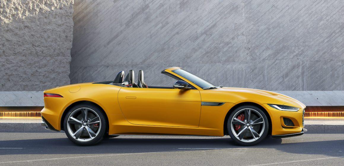 Jaguar ra mắt mẫu F-TYPE mới trên toàn thế giới tại Anh Quốc.