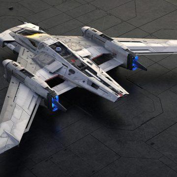 Porsche và Lucasfilm ra mắt thiết kế tàu không gian.