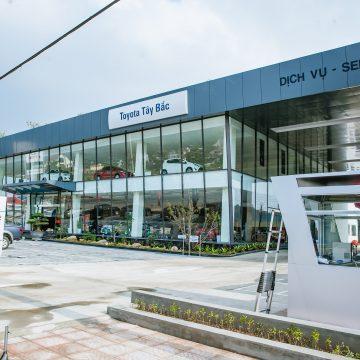 Toyota mở rộng hệ thống đại lý/chi nhánh đại lý và trạm dịch vụ ủy quyền