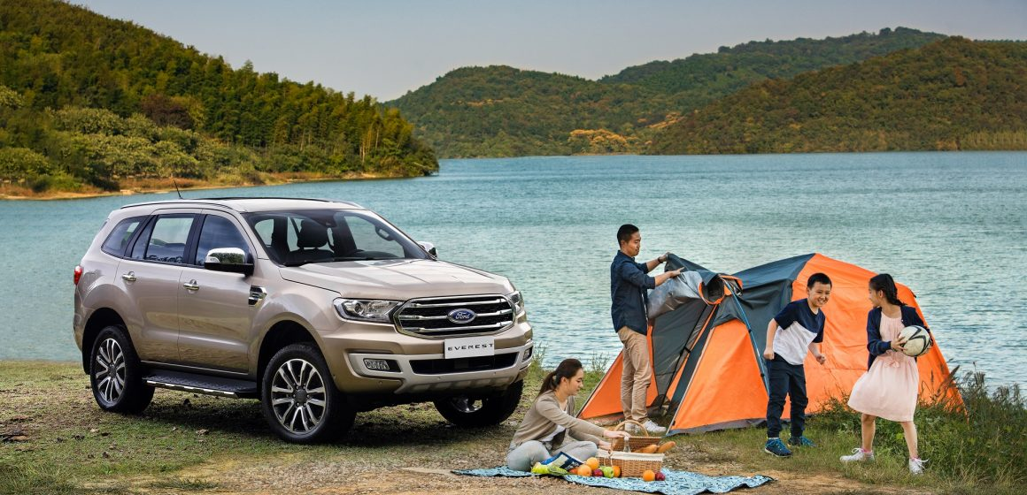 Chinh phục thiên nhiên với Ford Everest – Phương tiện tối ưu cho những buổi cắm trại.