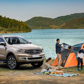 Ford Everest – Phương tiện tối ưu cho những buổi cắm trại.
