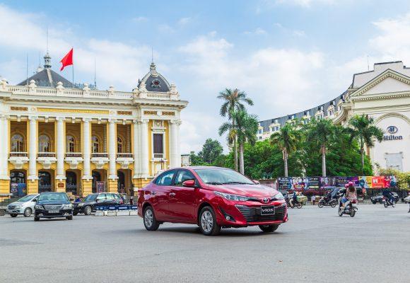 Toyota Vios 2020 – Tiện nghi ngập tràn, giá bán hấp dẫn.