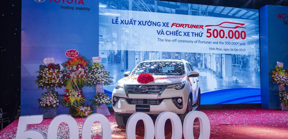 Toyota Việt Nam tăng trưởng ấn tượng trong năm 2019.