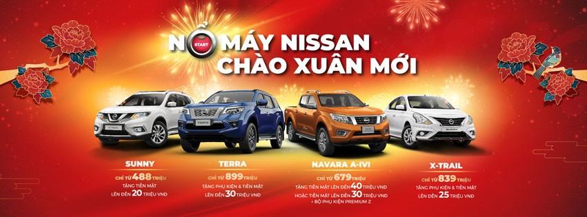 Chương trình ưu đãi dành cho khách hàng mua xe Nissan trong tháng 02/2020.
