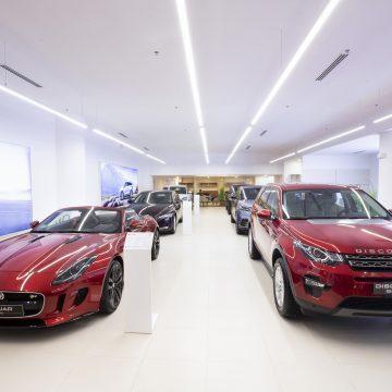 Jaguar Land Rover Việt Nam mở cửa không gian trưng bày mới tại Phú Mỹ Hưng