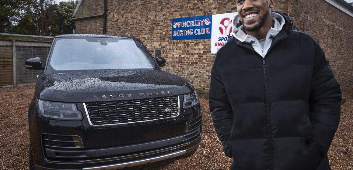 Anthony Joshua cùng Range Rover Svautobiography bước vào cuộc thách đấu