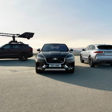 Jaguar F-Pace mang đến thử nghiệm tối ưu cho hệ thống camera mới của Canon