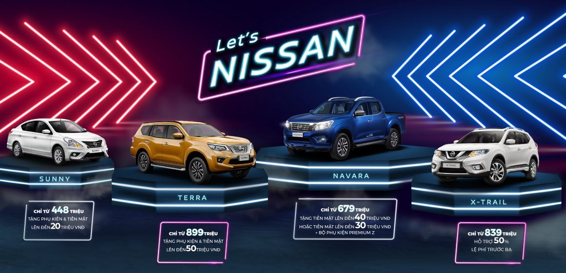 Chương trình ưu đãi dành cho khách hàng mua xe Nissan trong tháng 03/2020