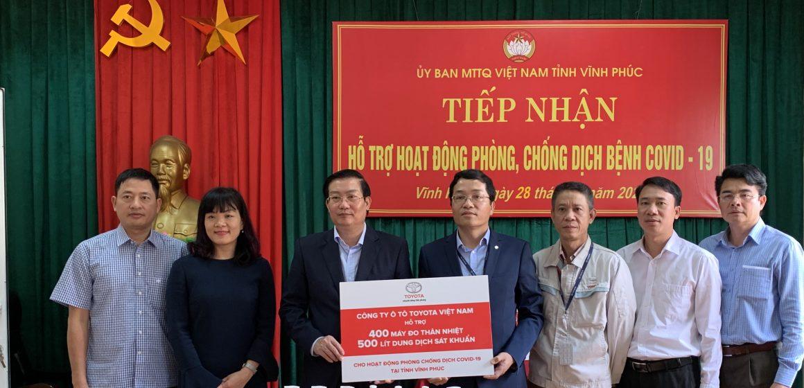 Toyota VN chung tay cùng Việt Nam đẩy lùi dịch bệnh Covid-19