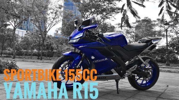Yamaha R15 V3. Mô tô cỡ nhỏ điển hình. Giá 79 triệu đồng