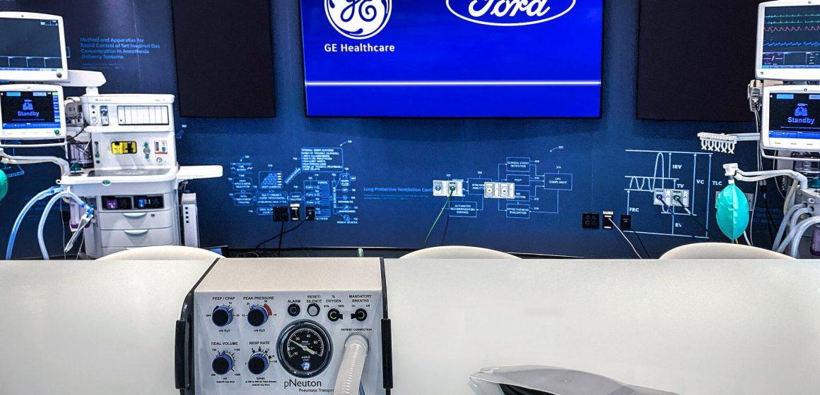 Ford hợp tác với GE Healthcare sản xuất 50.000 máy thở trong 100 ngày