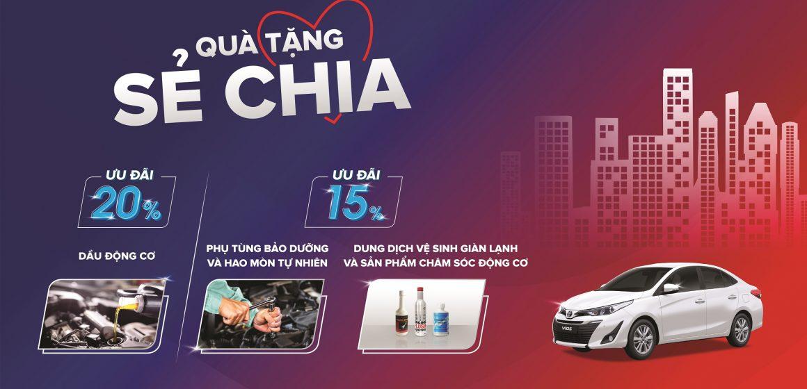 Quà tặng sẻ chia từ Toyota Việt Nam