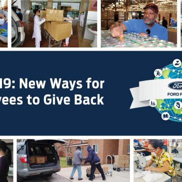 Nhân viên Ford VNcùng quỹ Ford chung tay giúp đỡ cộng đồng đẩy lùi Covid-19