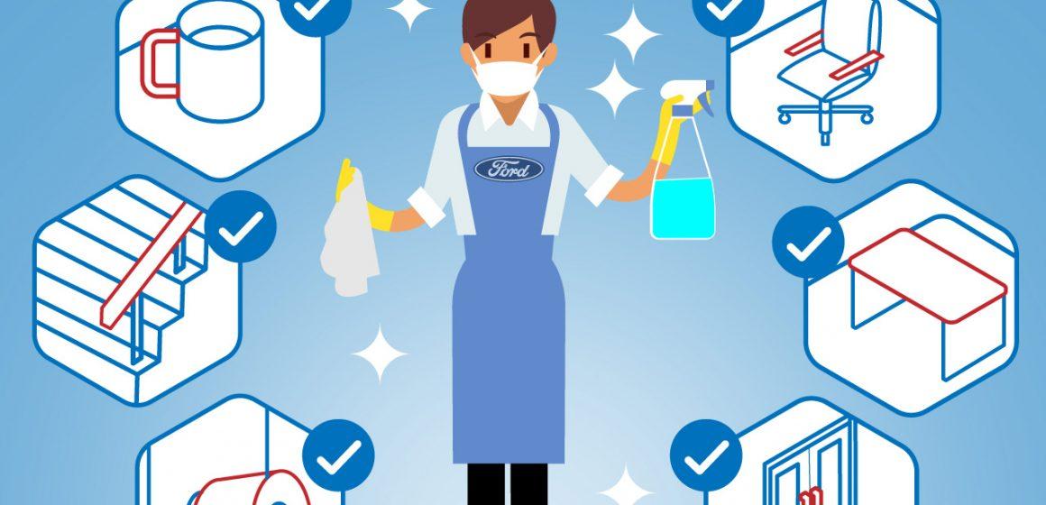 Ford VN triển khai các dịch vụ hỗ trợ khách trong mùa dịch