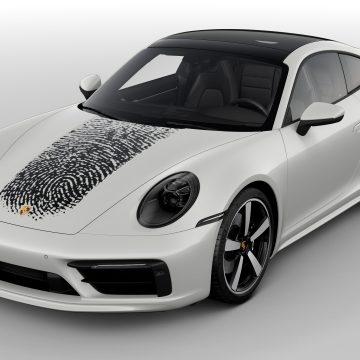 Chiếc Porsche độc nhất vô nhị như vân tay của bạn