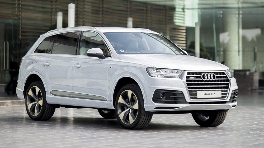 Audi VN triệu hồi Audi Q7 để kiểm tra lực siết bu-lông