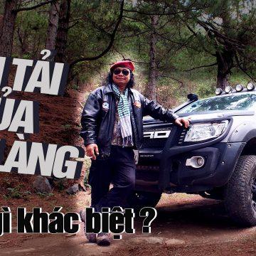 Theo chân Già làng Krajan Plin lái Ford Ranger khám phá núi rừng Tây Nguyên