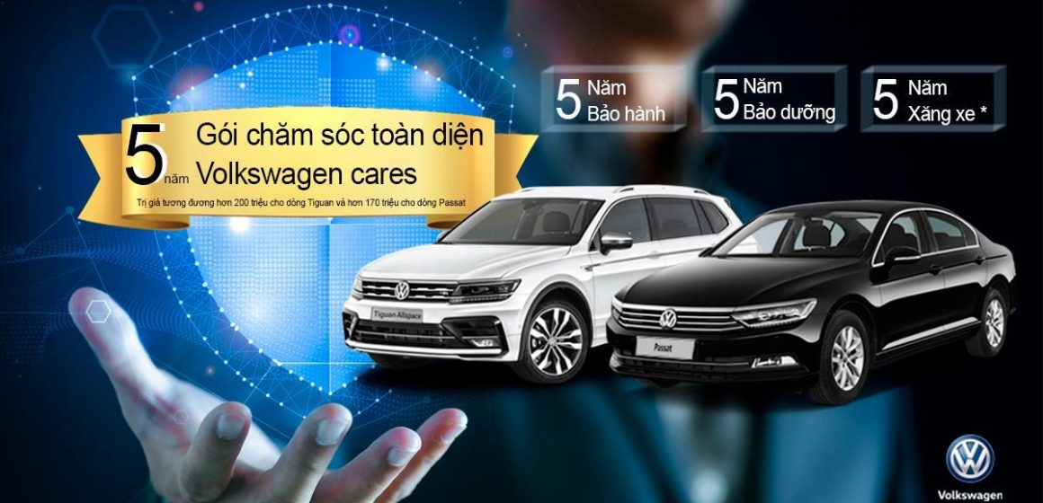 Gói chăm sóc xe Volkswagen toàn diện 5 năm – Volkswagen cares