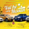 Ưu đãi dành cho khách hàng mua xe Nissan trong tháng 05/2020