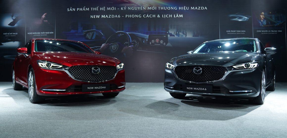 Thaco công bố giá bán New Mazda6. Khởi điểm từ 889 triệu đồng