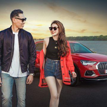 Audi Q3 cùng đại sứ Dương Tú Anh và Justin Dương Young