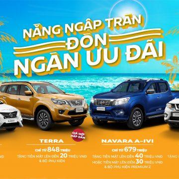 Ưu đãi dành cho khách hàng mua xe Nissan trong tháng 06/2020