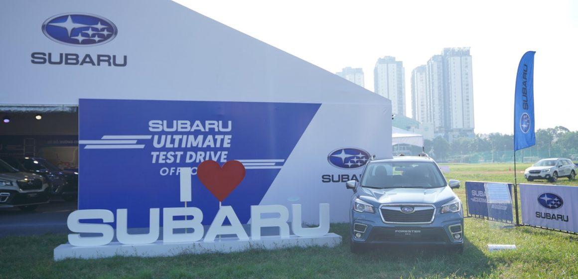 Khởi động chuỗi sự kiện lái thử Subaru Ultimate Test Drive 2020 tại TP.HCM