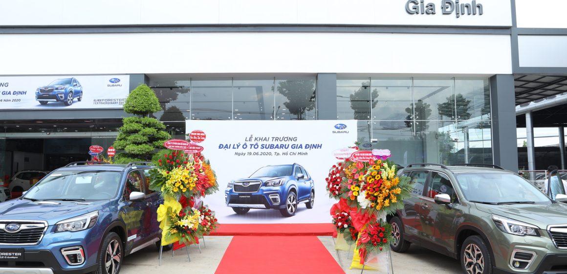 Khai trương đại lý ủy quyền Subaru Gia Định