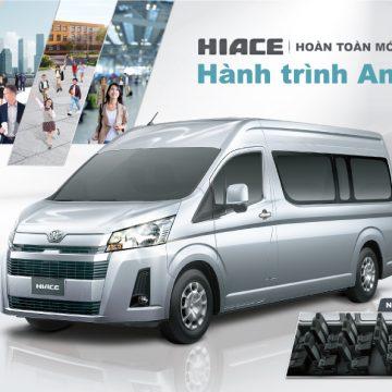 Giới thiệu Toyota Hiace, Granvia và Land Cruiser Prado thế hệ mới