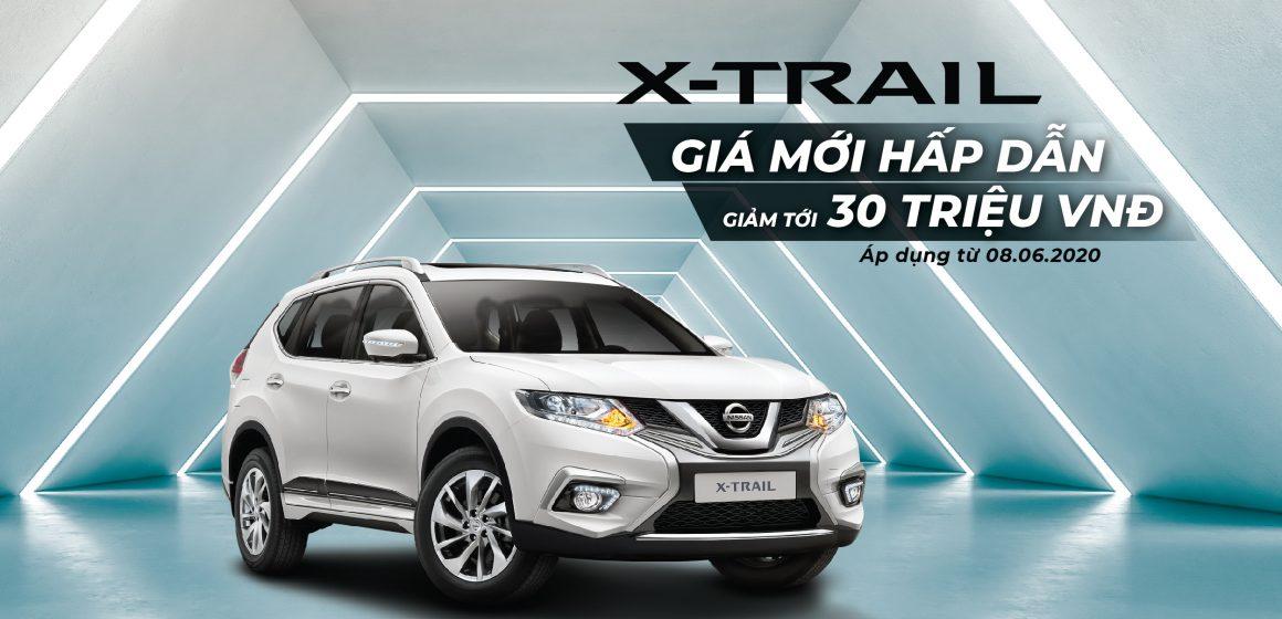 Nissan Việt Nam và TCIE Việt Nam tung ra ưu đãi giá cho Nissan X-Trail