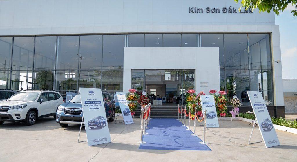 Motor Image Việt Nam Khai trương đại lý Subaru Kim Sơn Đắk Lắk