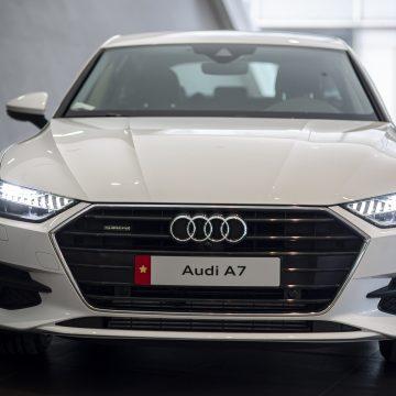 Thanh lịch và mạnh mẽ, Audi A7 Sportback mới lăn bánh tại Việt Nam