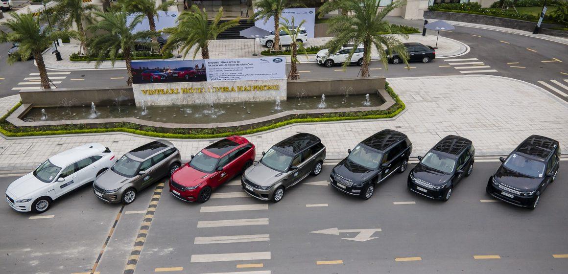 Jaguar Land Rover triển khai chuỗi hoạt động lái thử và dịch vụ lưu động tại Cần Thơ