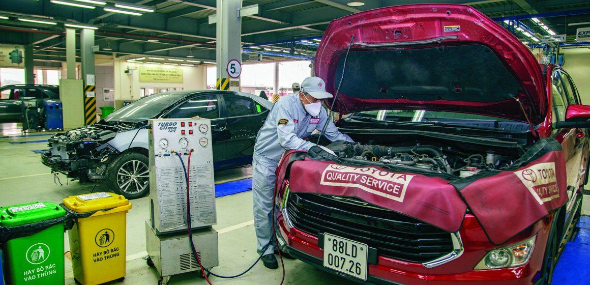 Toyota Việt Nam: Sản xuất kinh doanh gắn với bảo vệ môi trường