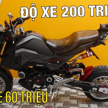 Honda MSX 68 triệu, nhưng đồ chơi trên xe có giá gấp 4 lần