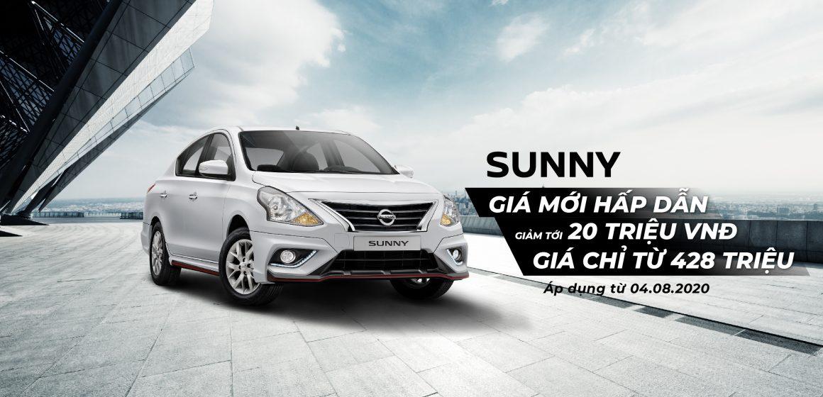 Công bố mức giá mới đặc biệt cho Nissan Sunny