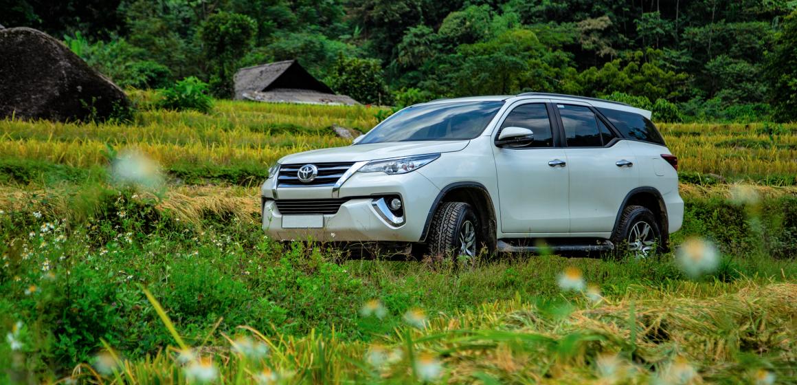 Chương trình ưu đãi  Khi mua xe Toyota Fortuner trong tháng 8