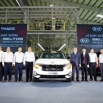 Kia Seltos xuất xưởng, áp dụng giá mới cho phiên bản Deluxe trong tháng 9