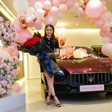 Hoa Hậu Hương Giang trở thành chủ sở hữu Maserati Quattroporte GranLusso màu Rosso Folgore độc đáo