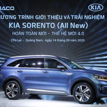 Thaco giới thiệu Kia Sorento hoàn toàn mới, giá từ 1,059 tỷ đồng
