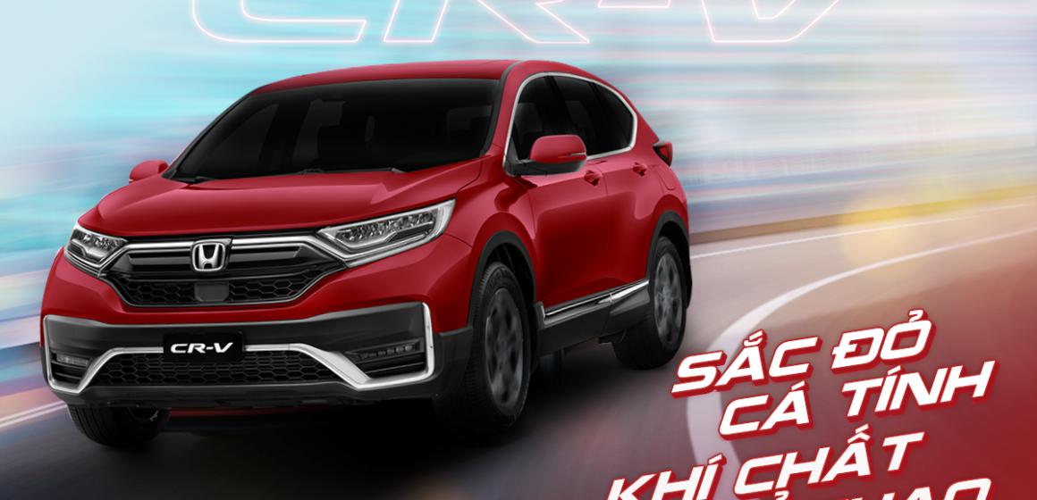 Honda CR-V: Thêm sắc đỏ – Tôn cá tính