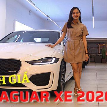 Chân dung Jaguar XE 2020 – Thể thao và cá tính. Giá từ 2,61 tỷ đồng
