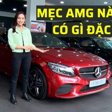 Mercedes-Benz C 300 AMG & E 300 AMG – Biểu tượng thể thao trong phân khúc